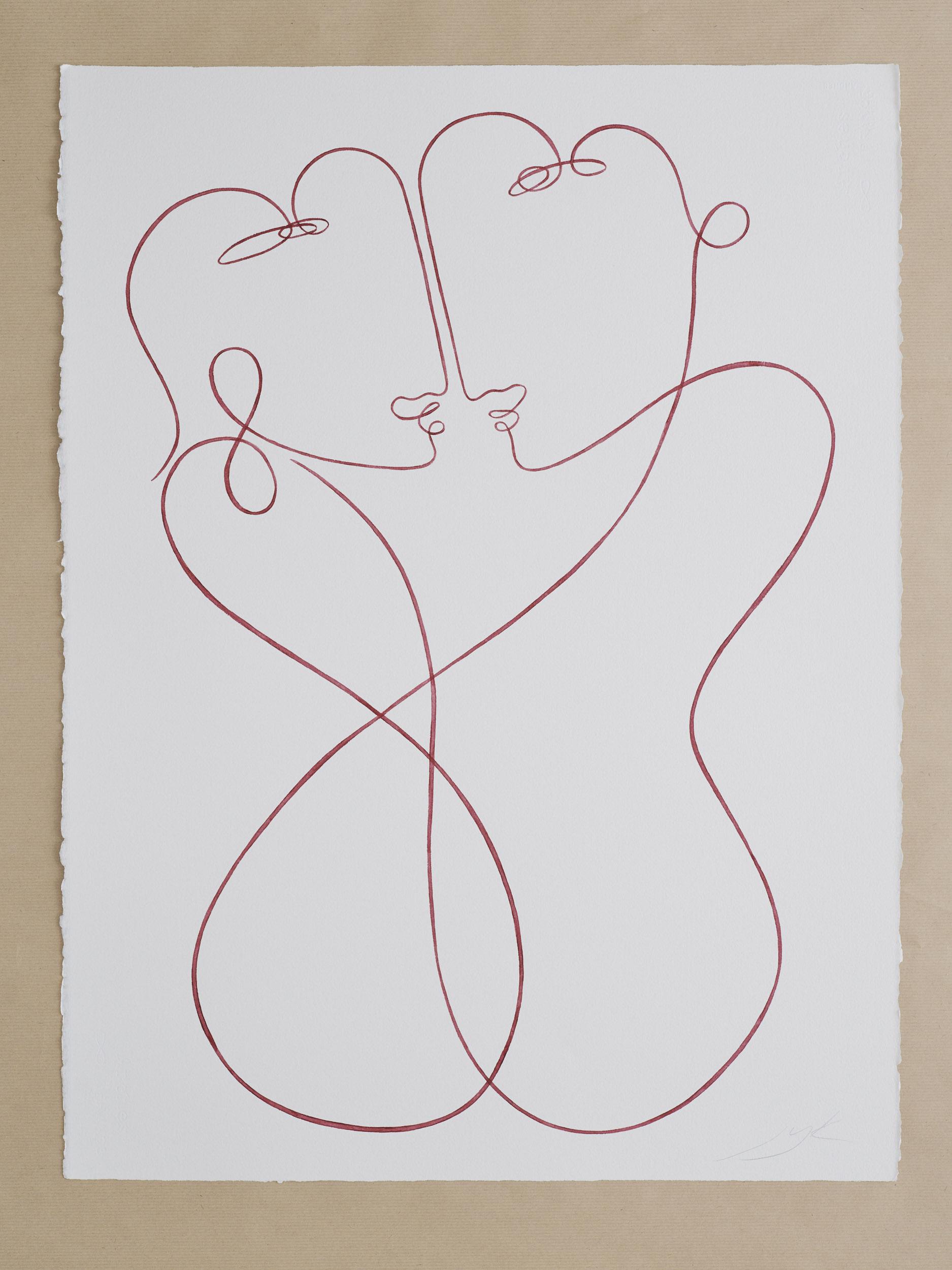 Hold me (56 x 76 cm)
