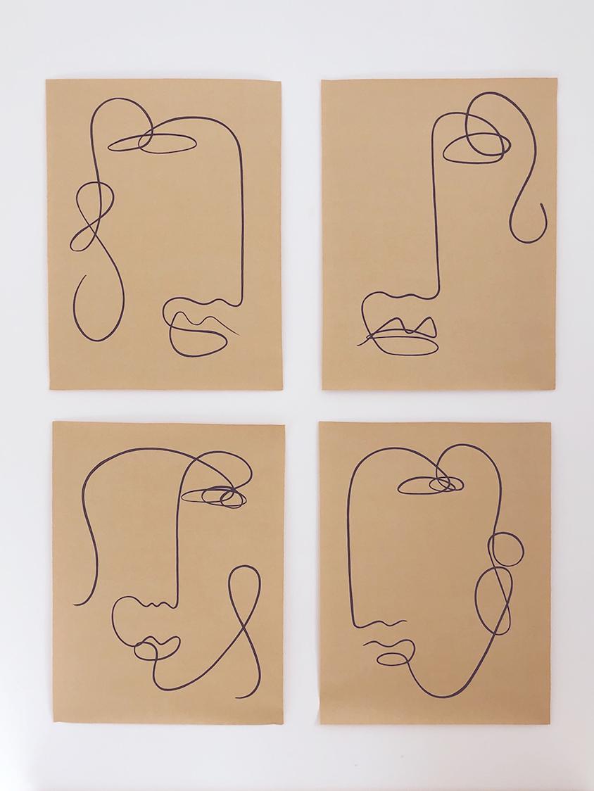 Blind drawings II
