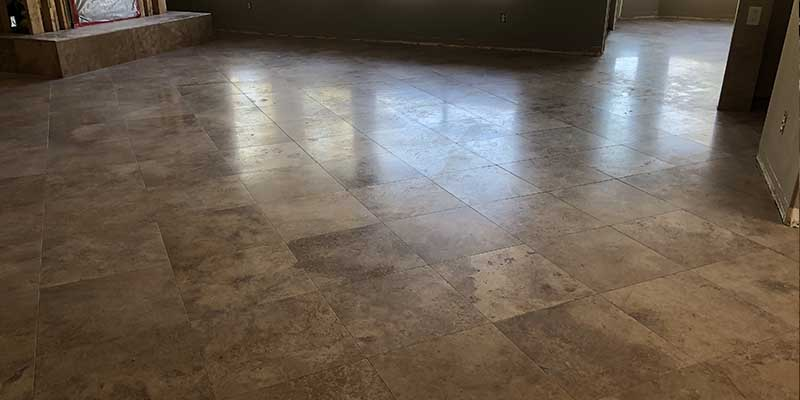 Cleaning Tile in Paradise Valley