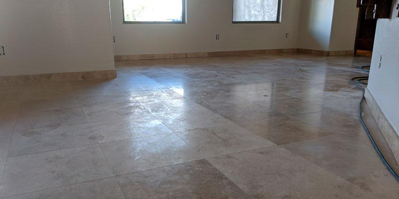 Polishing Travertine Tile Chandler