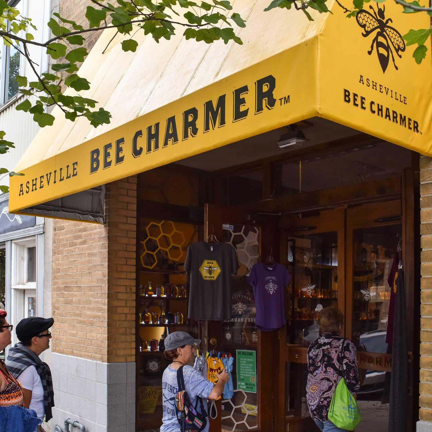 Asheville Bee Charmer Awning Design