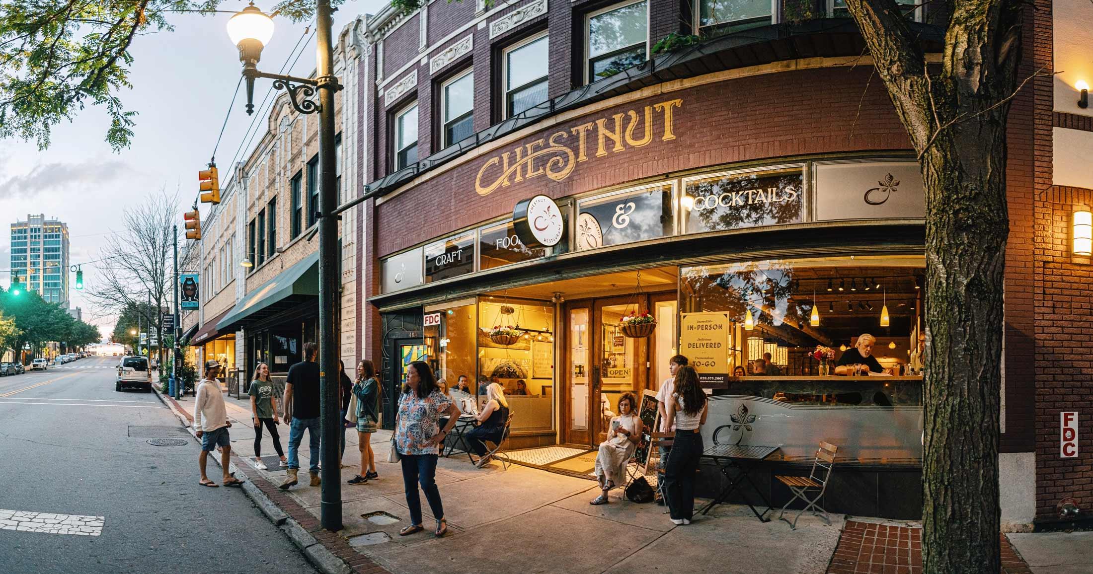 Chestnut facade redesign