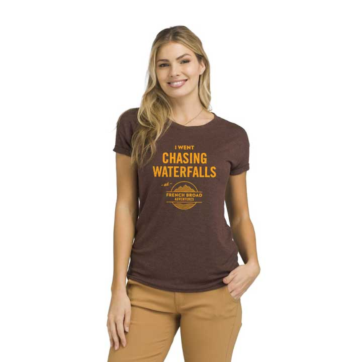 French Broad Adventures shirt mockup