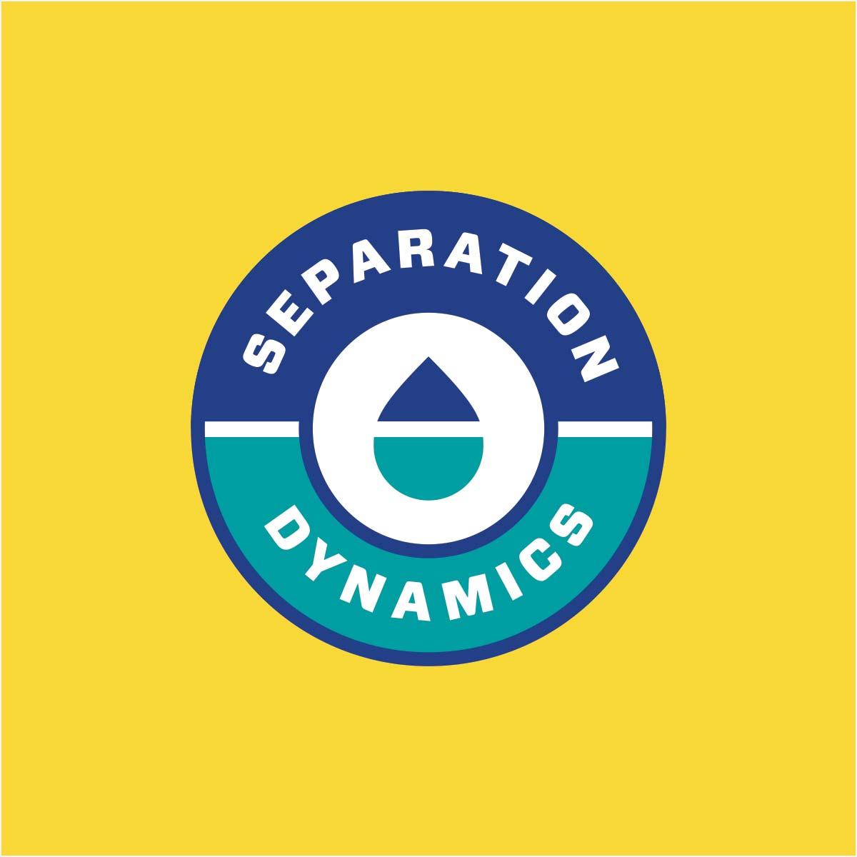 Separation Dynamics logo on yellow