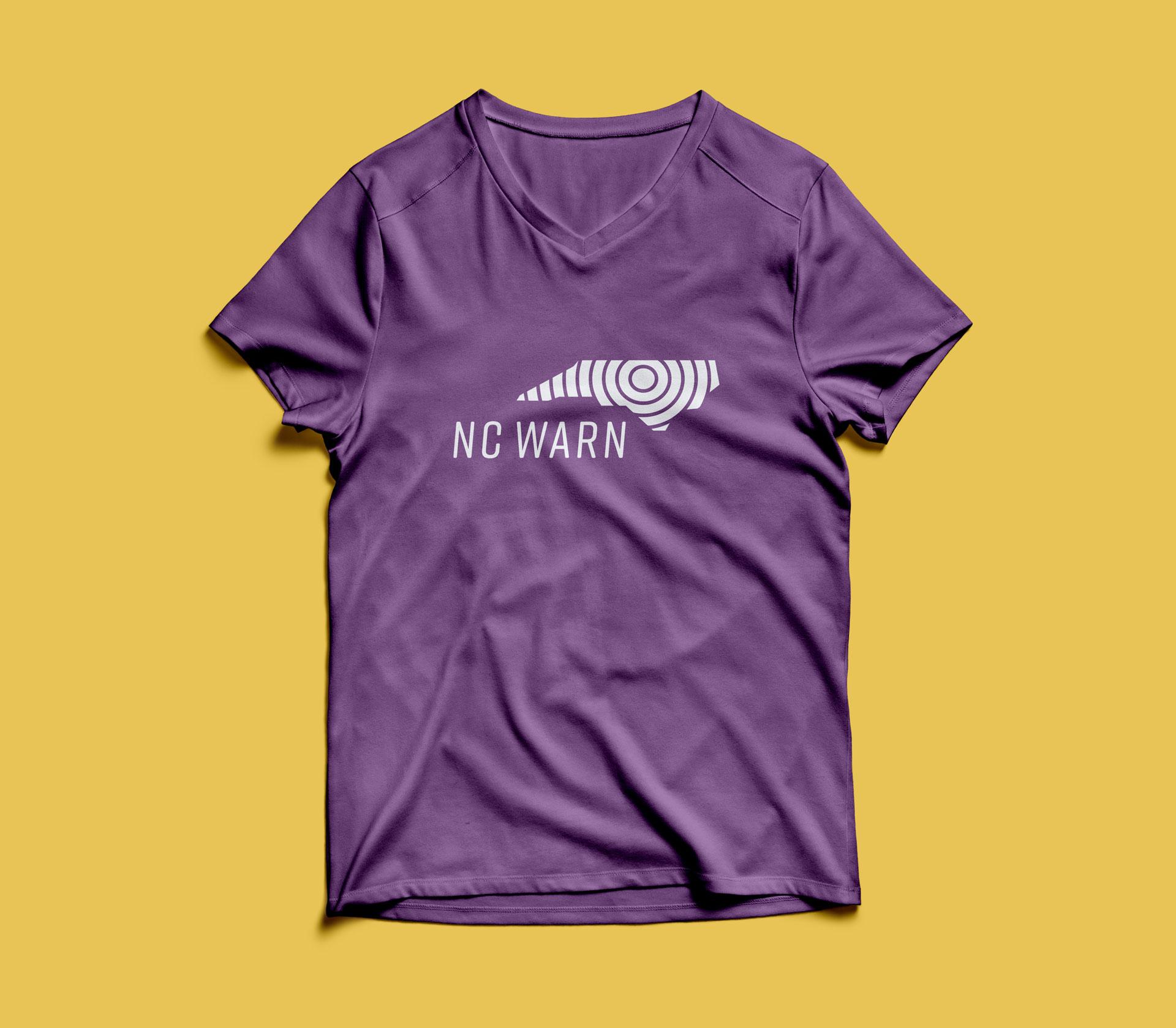 NC WARN t-shirt
