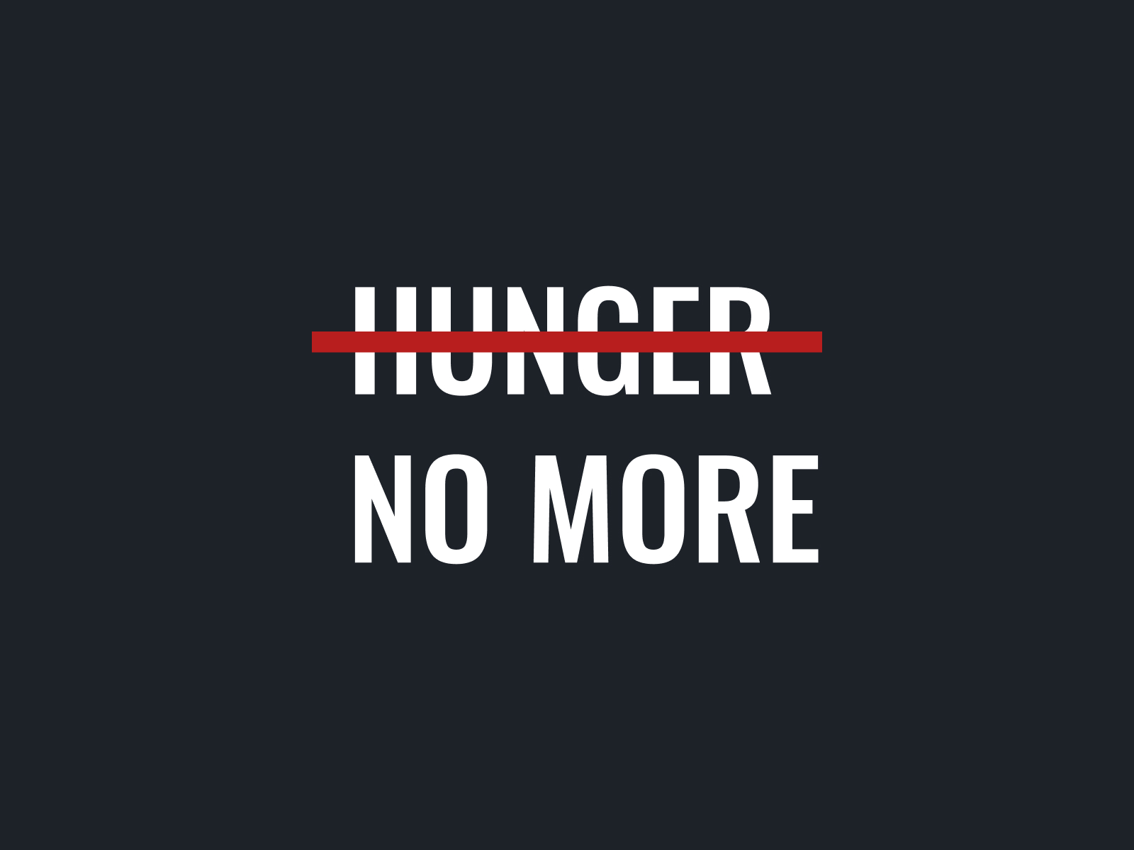 Hunger No More logo thumbnail.