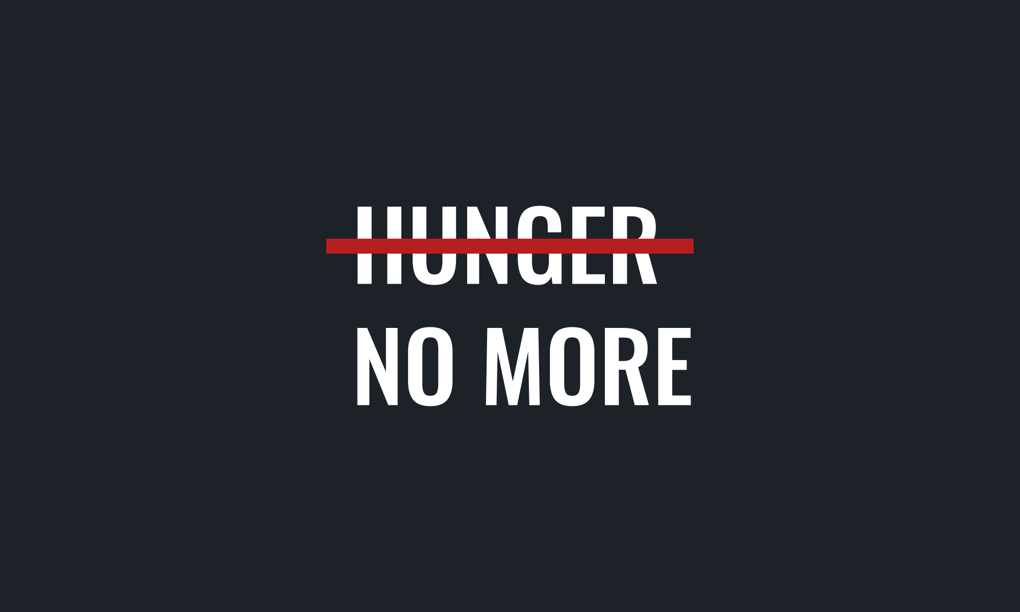Logo Concept for Hunger No More