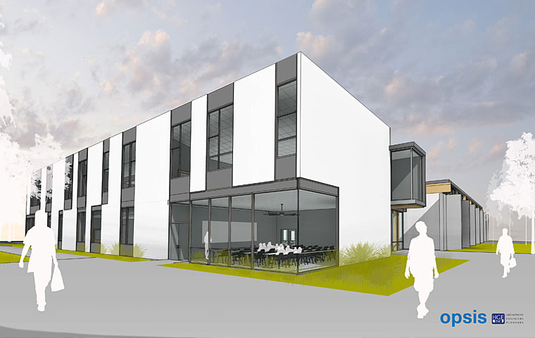 Health & Science Technology Building at Southwestern Oregon Community College in Coos Bay
