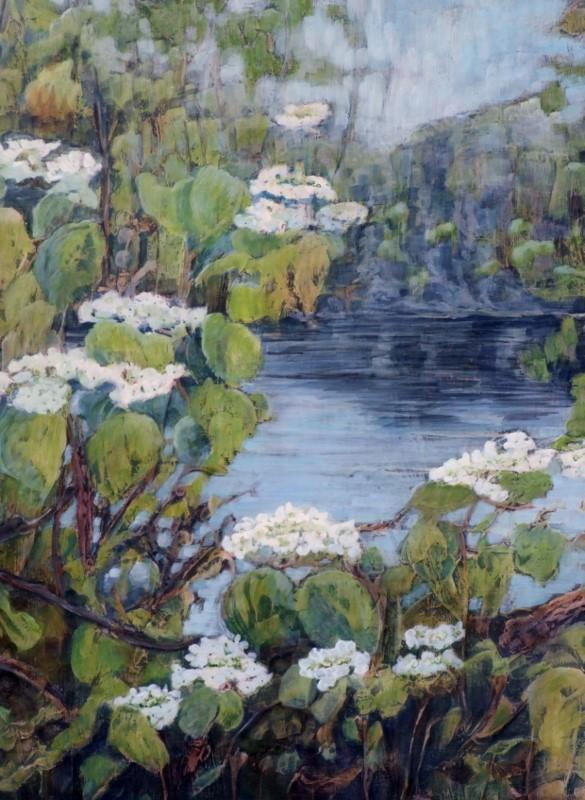 Spring at Benson Lake