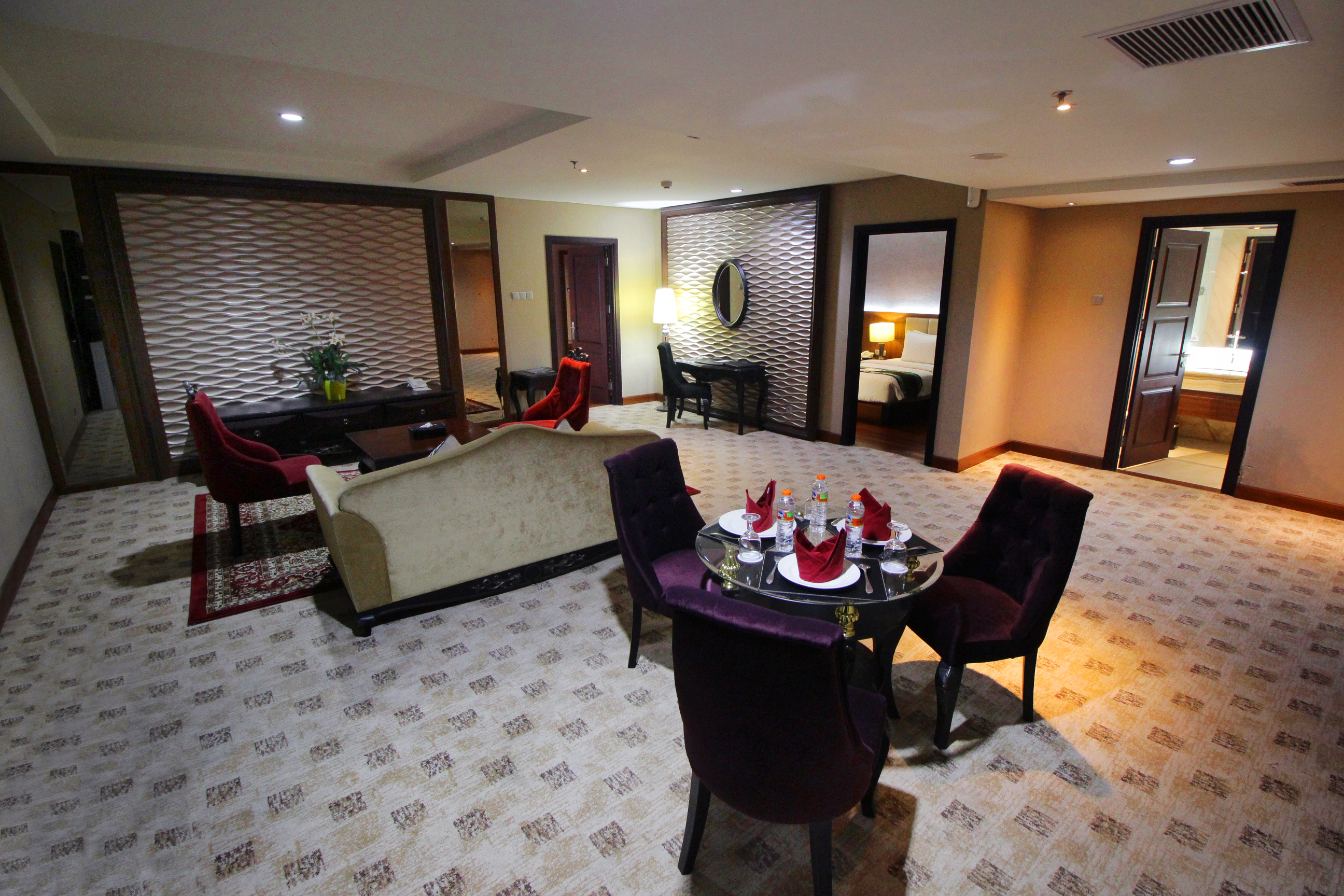 GDQHB Presidential Suite