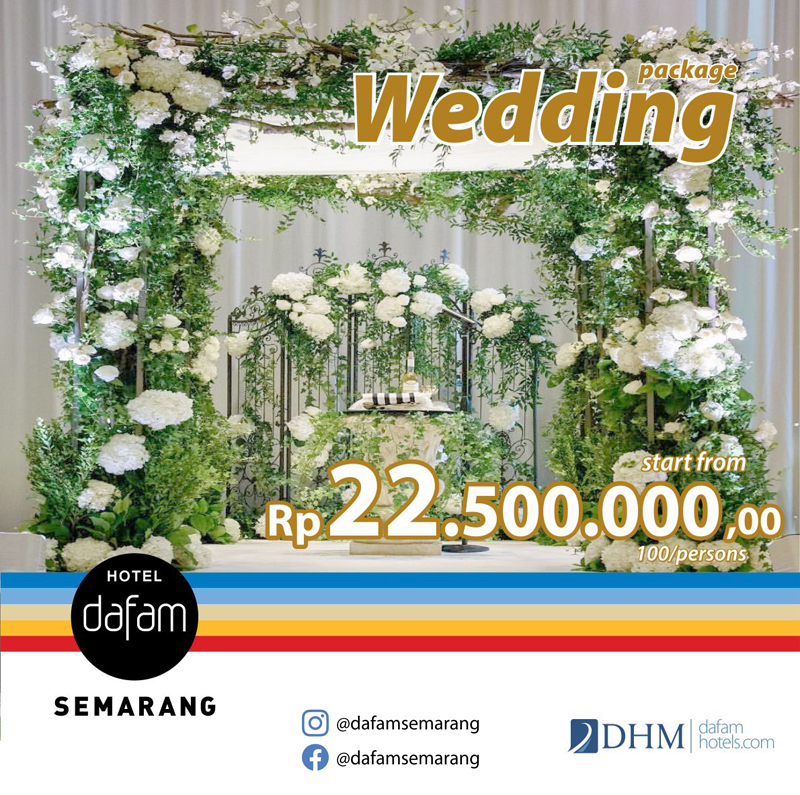 Wedding Package Hotel Dafam Semarang