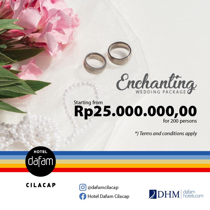 Wedding Package Hotel Dafam Cilacap