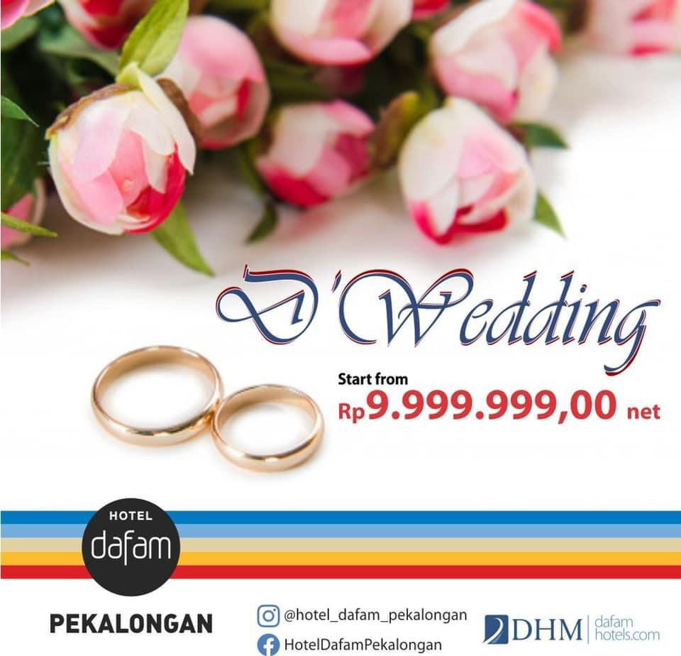 D Wedding Package Hotel Dafam Pekalongan