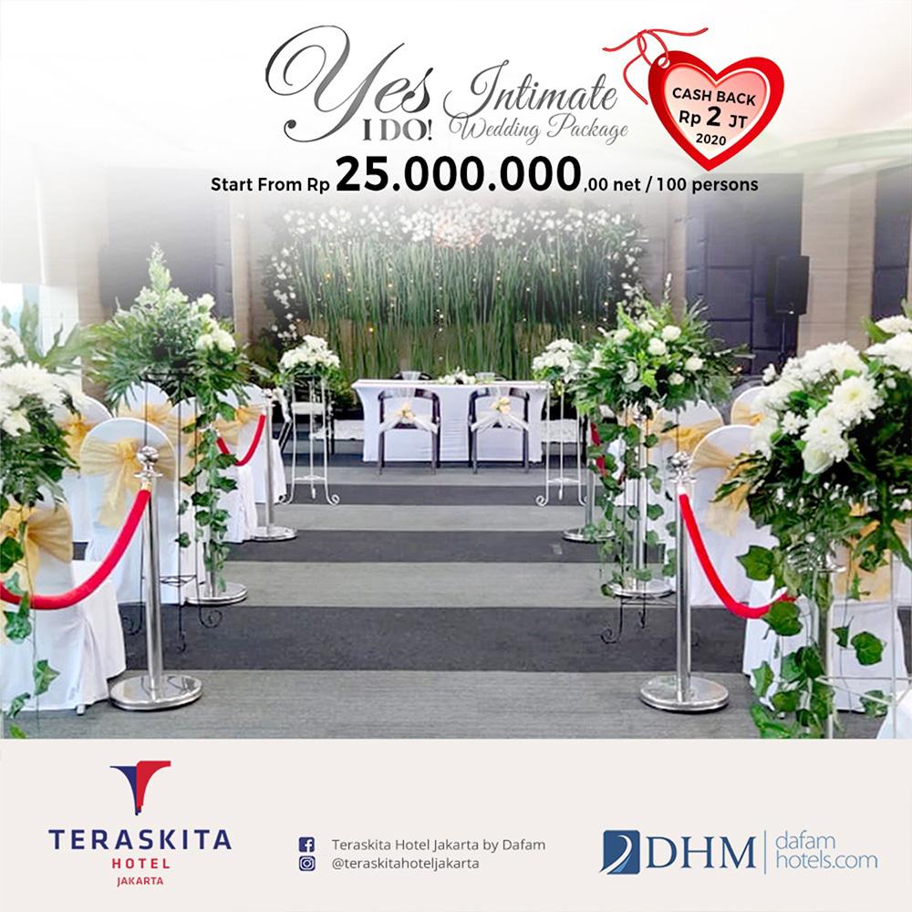 Yes I Do Teraskita Hotel Jakarta