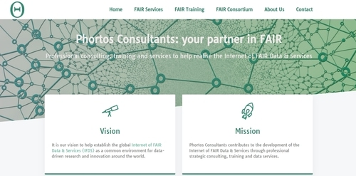Afbeelding van de website Phortos consultants, gemaakt door web bedrijf Sync-development uit Alphen aan den Rijn.