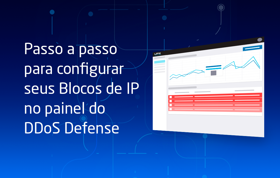 Configure seus Blocos de IP no painel do DDoS Defense