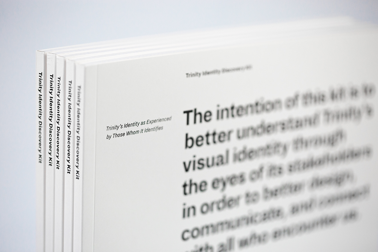 Trinity Identity Discovery Kit: Design Research
