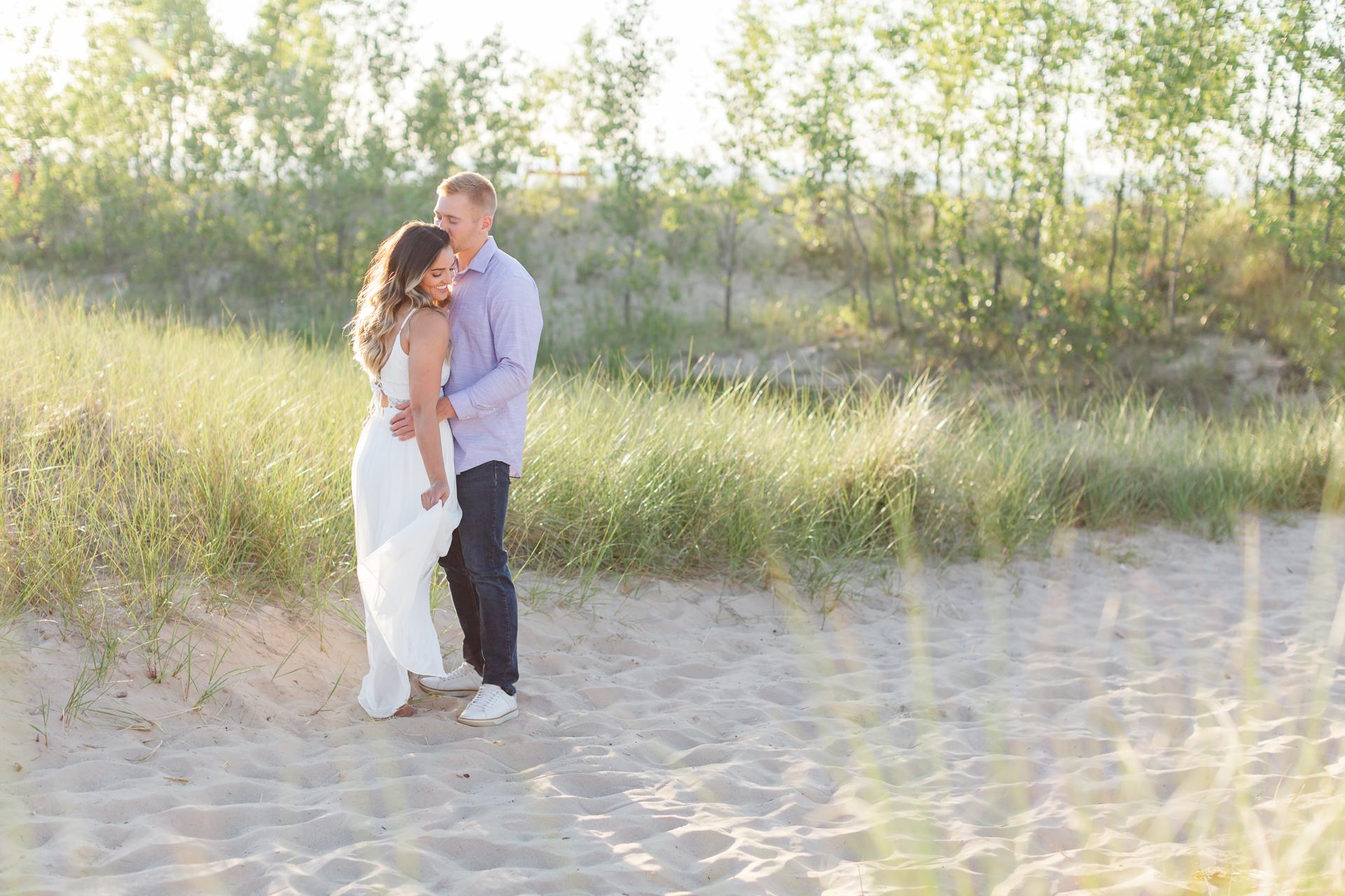 Aquatorium & Beach Engagement Session   Brittany & Seth