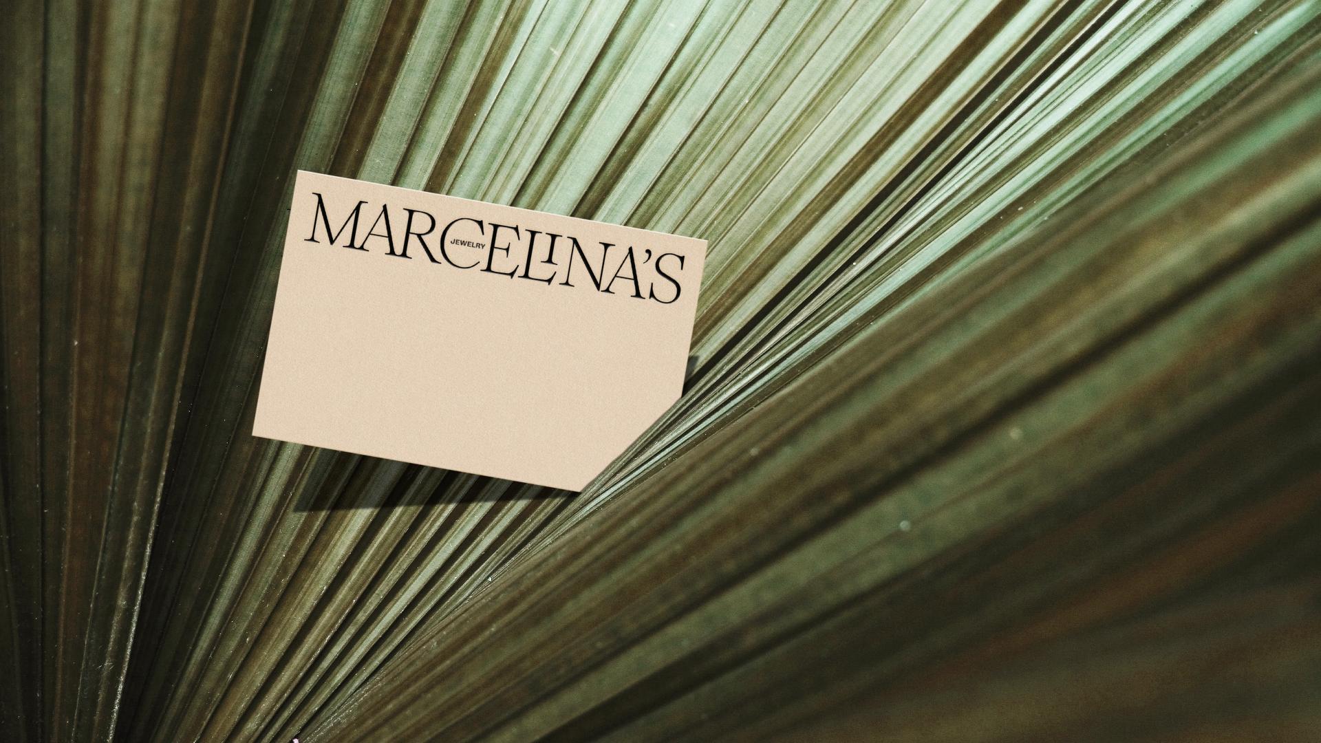 Marcelina's Jewelry Brand Identity Design