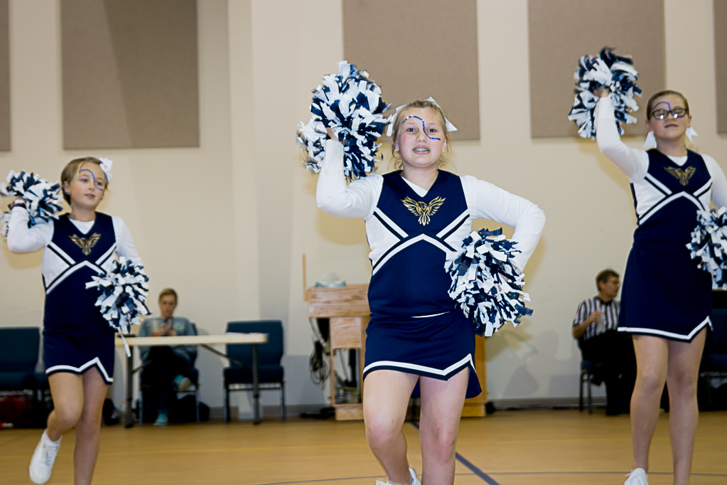 private school offers cheerleading and girls athletics