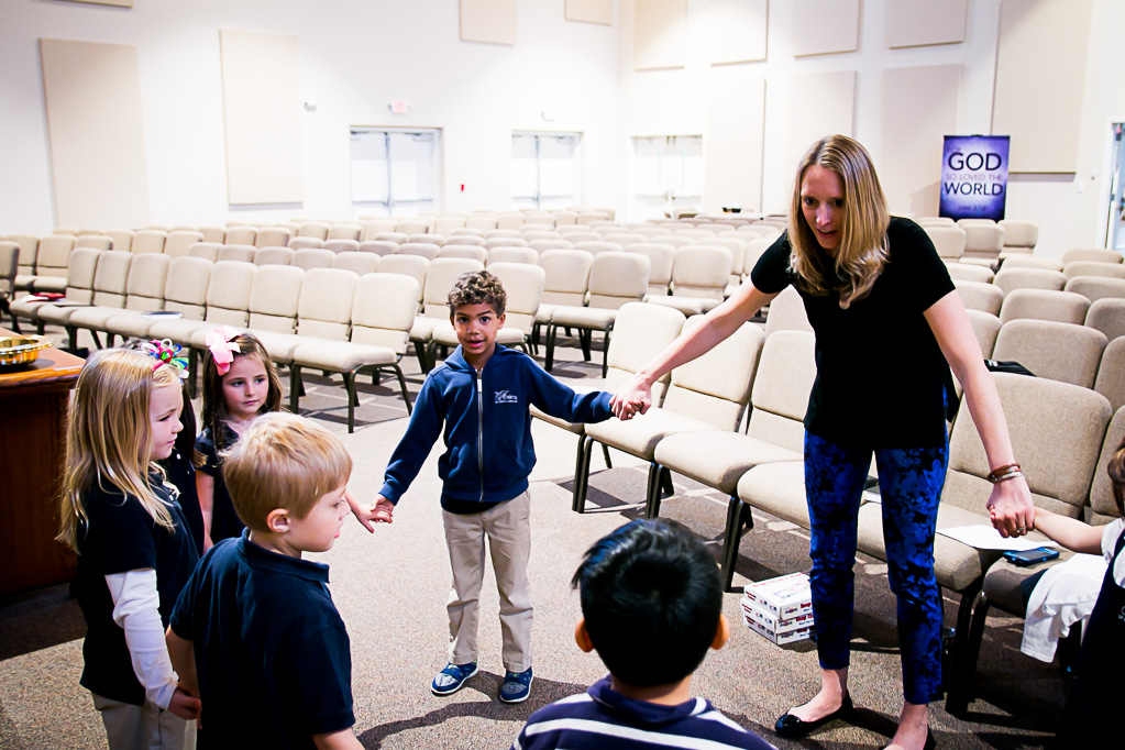 Students attend chapel daily at Christian School