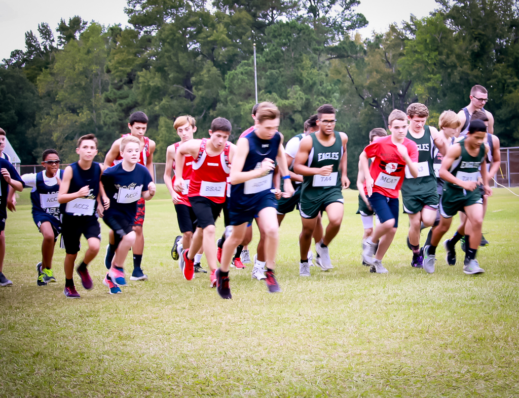 private school offers cross country
