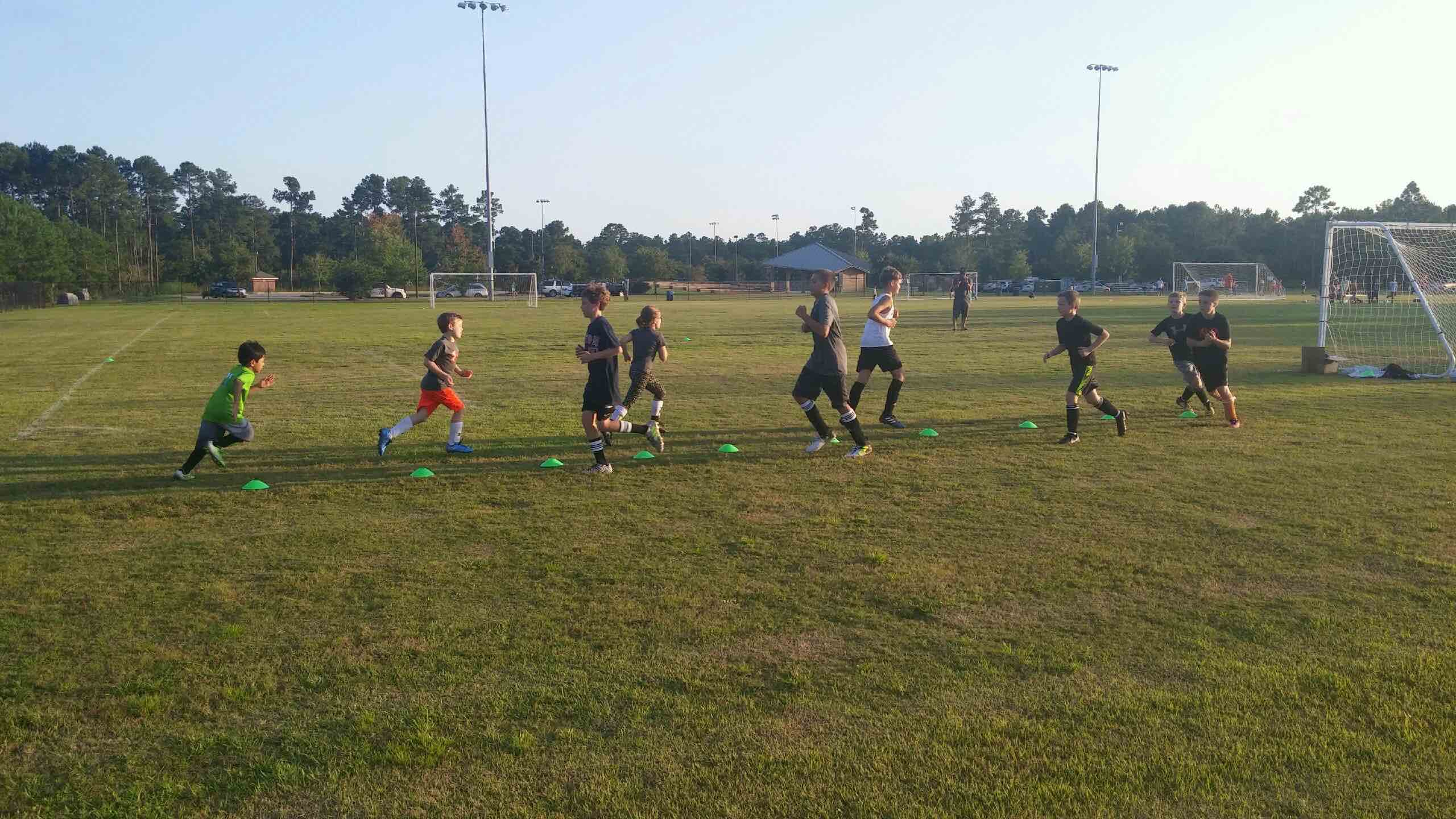 the academy offers soccer and other athletics
