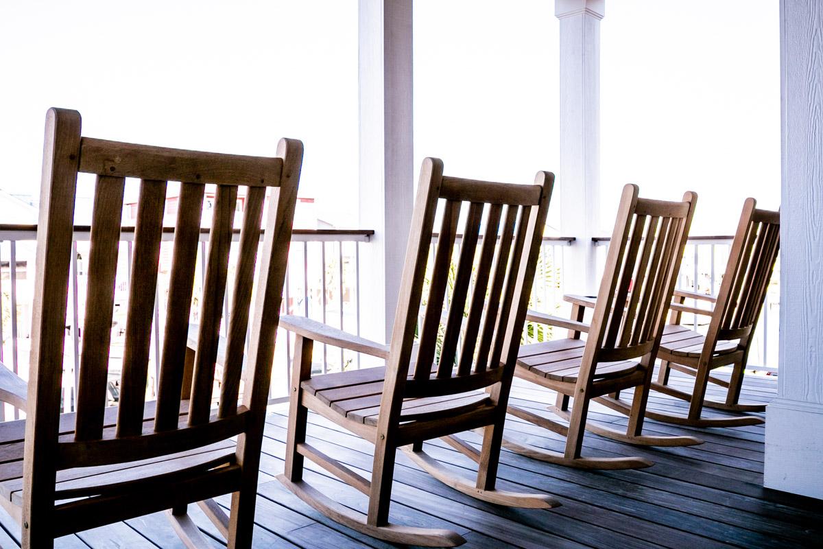 outdoor space by ocean isle beach builder