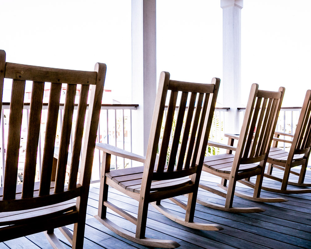 outdoor space in new ocean isle beach construction