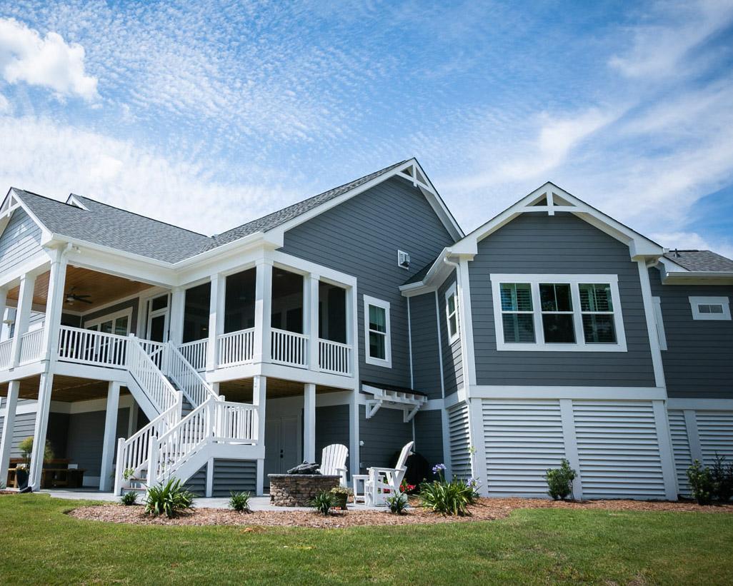 custom home by Sunset Beach Builder