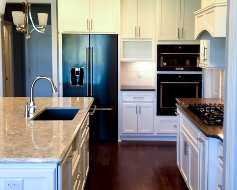 open kitchen by Ocean Isle Home Builder