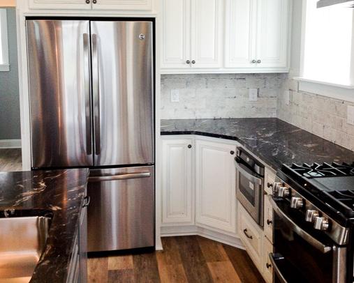 modern kitchen by home builder ernie crews