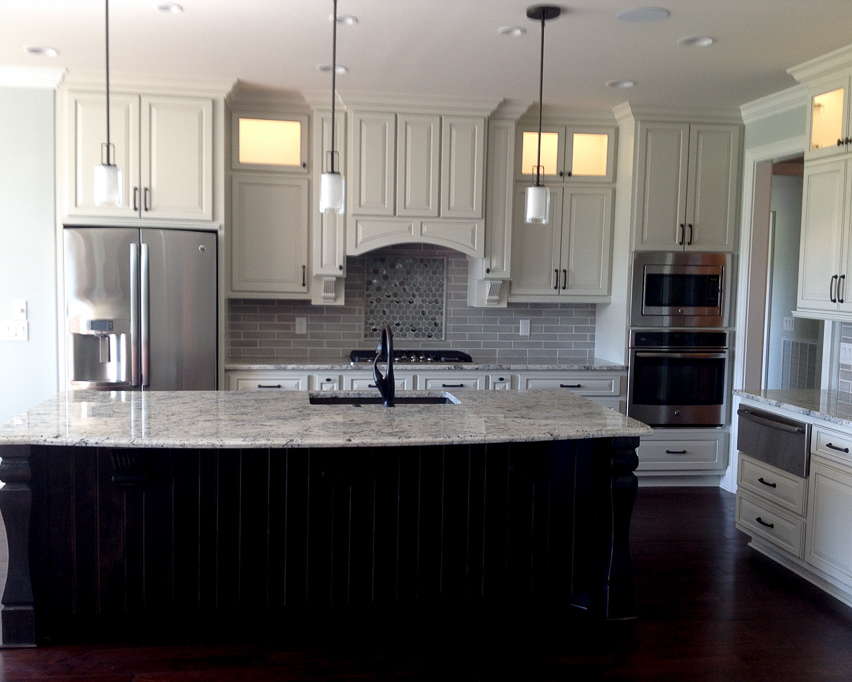 traditional kitchen by home contractor