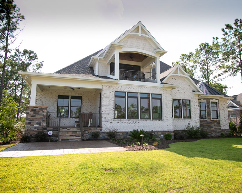 custom home by ocean isle beach builder