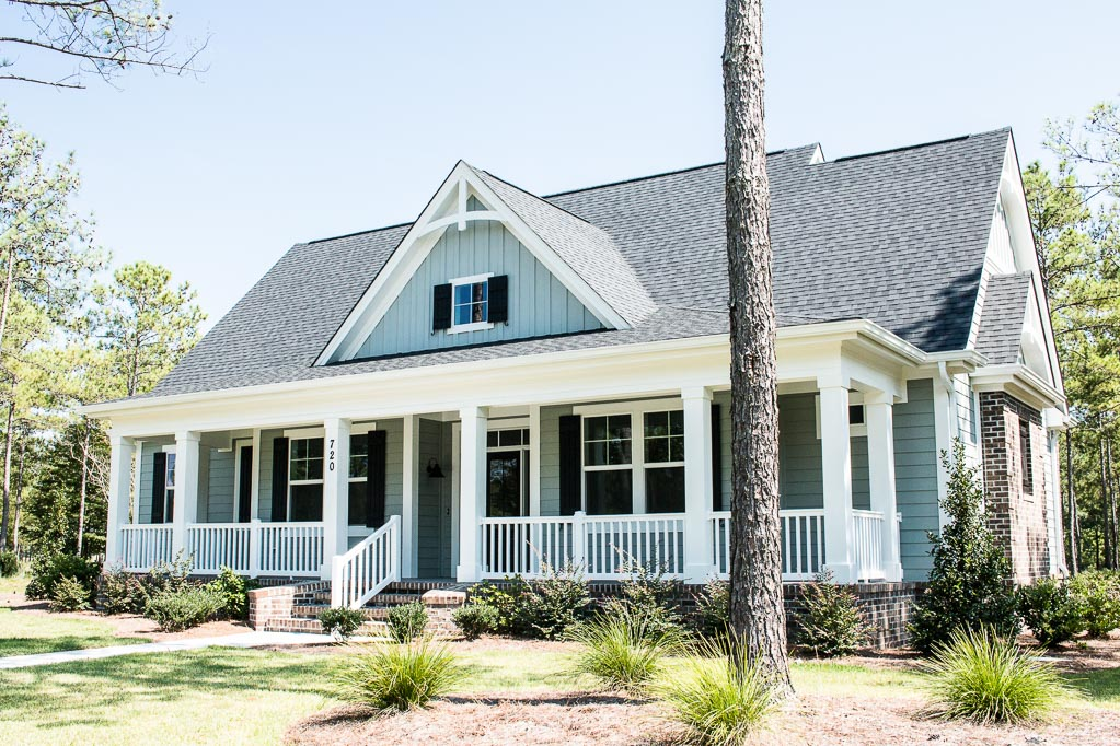 golf course home by ocean isle beach builder