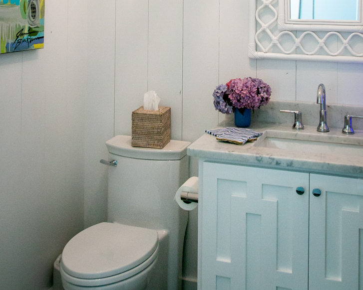 modern bathroom by custom ocean isle builder