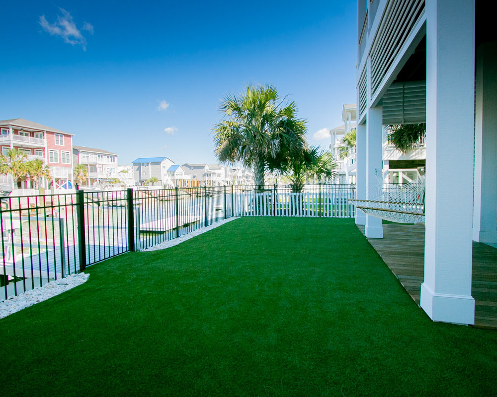 landscaping by ocean isle beach contractor