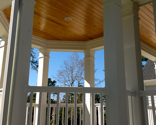 gazebo by ocean ridge custom home builder