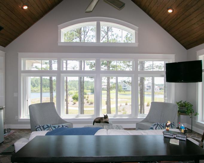 paneled ceilings by ocean isle builder