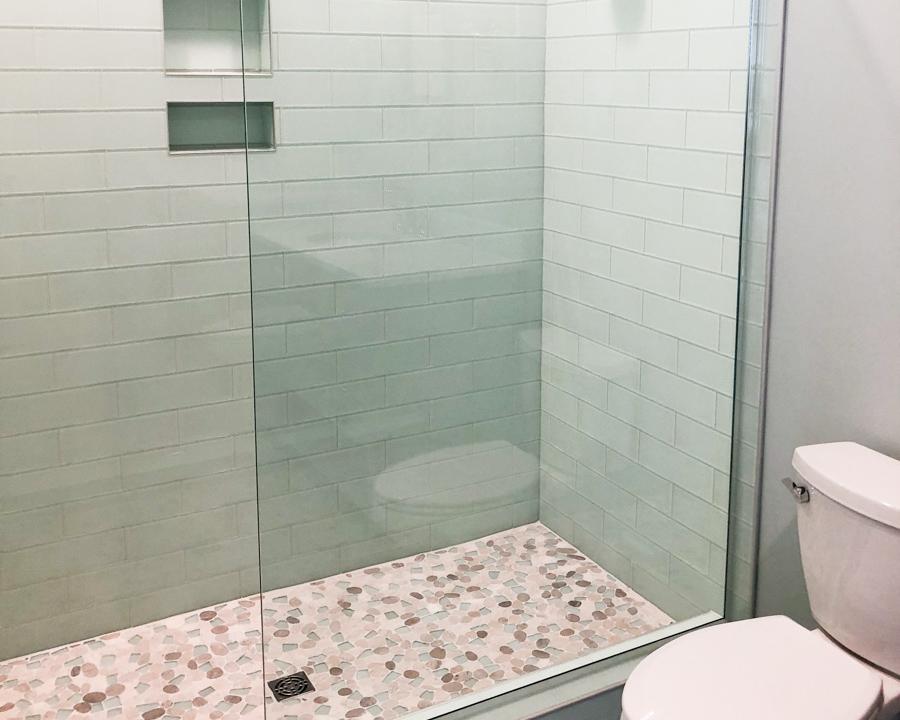 custom tile by custom ocean isle home builder
