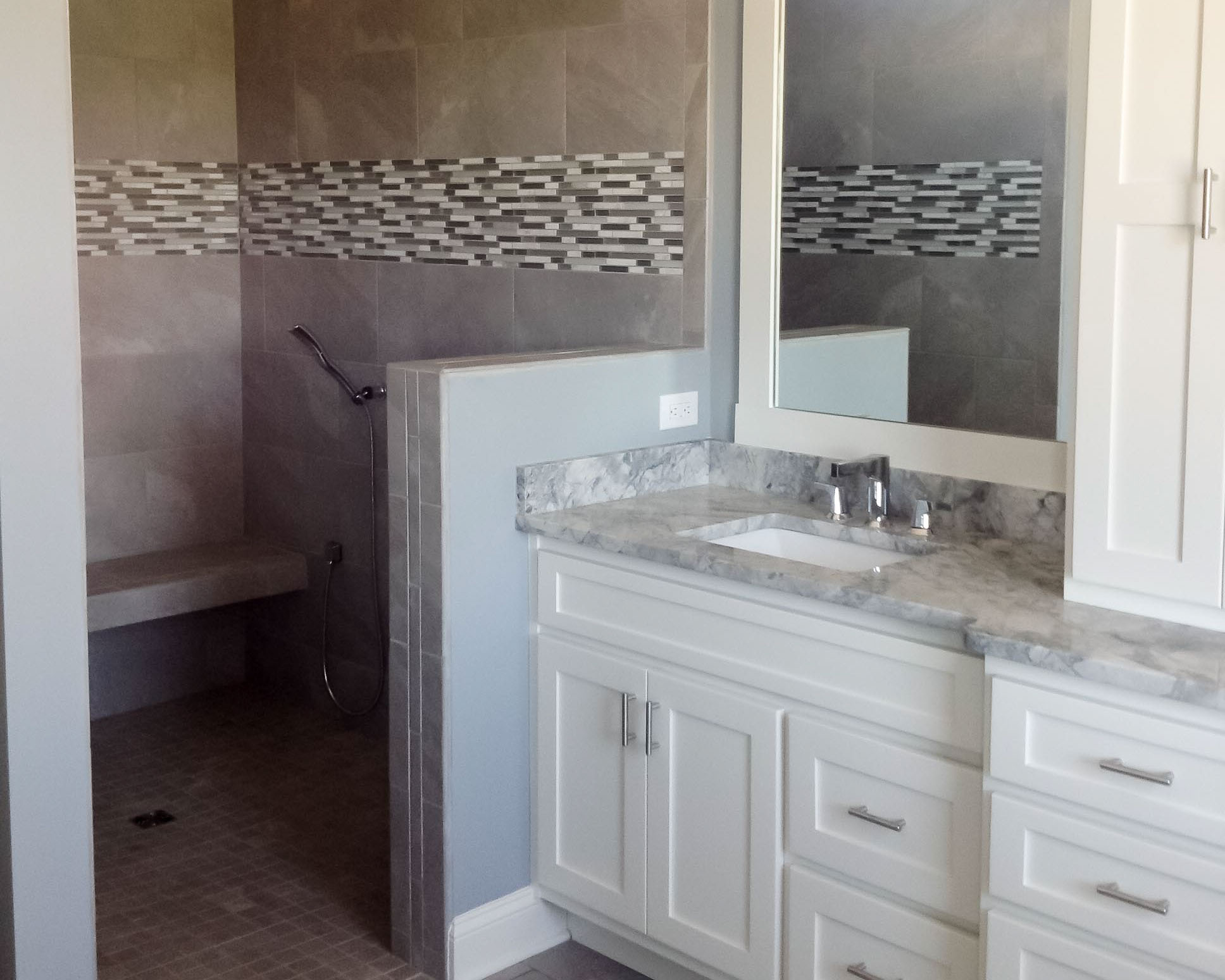 master suite in new beach house