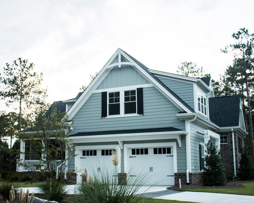 garage entry of new home in ocean ridge
