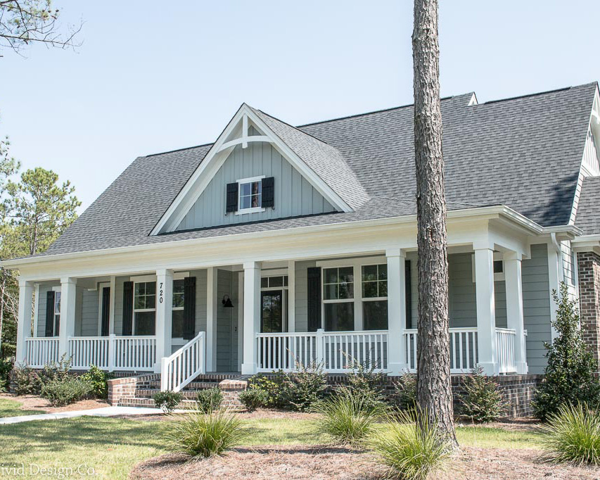 lowcountry style custom build golf course home
