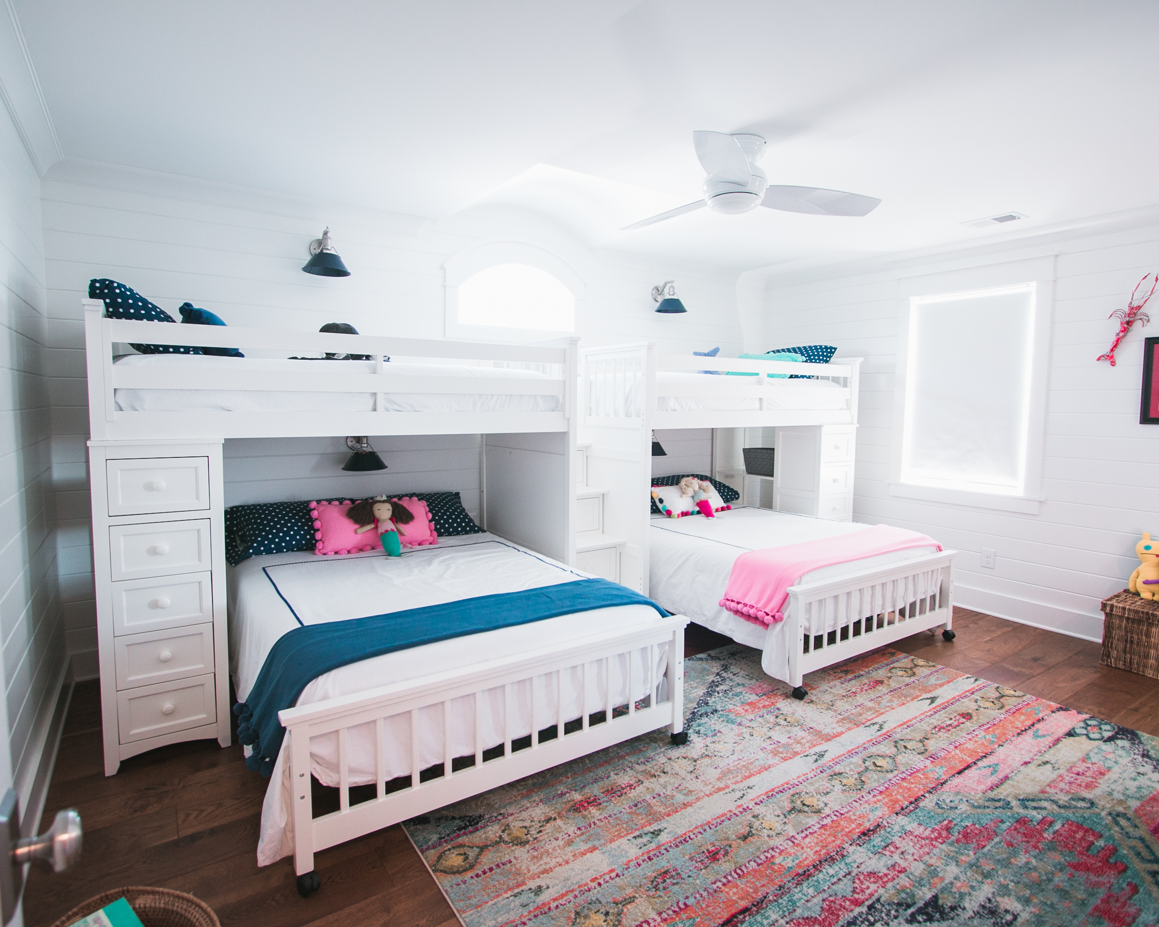 unique kid's bedroom in Sunset Beach home
