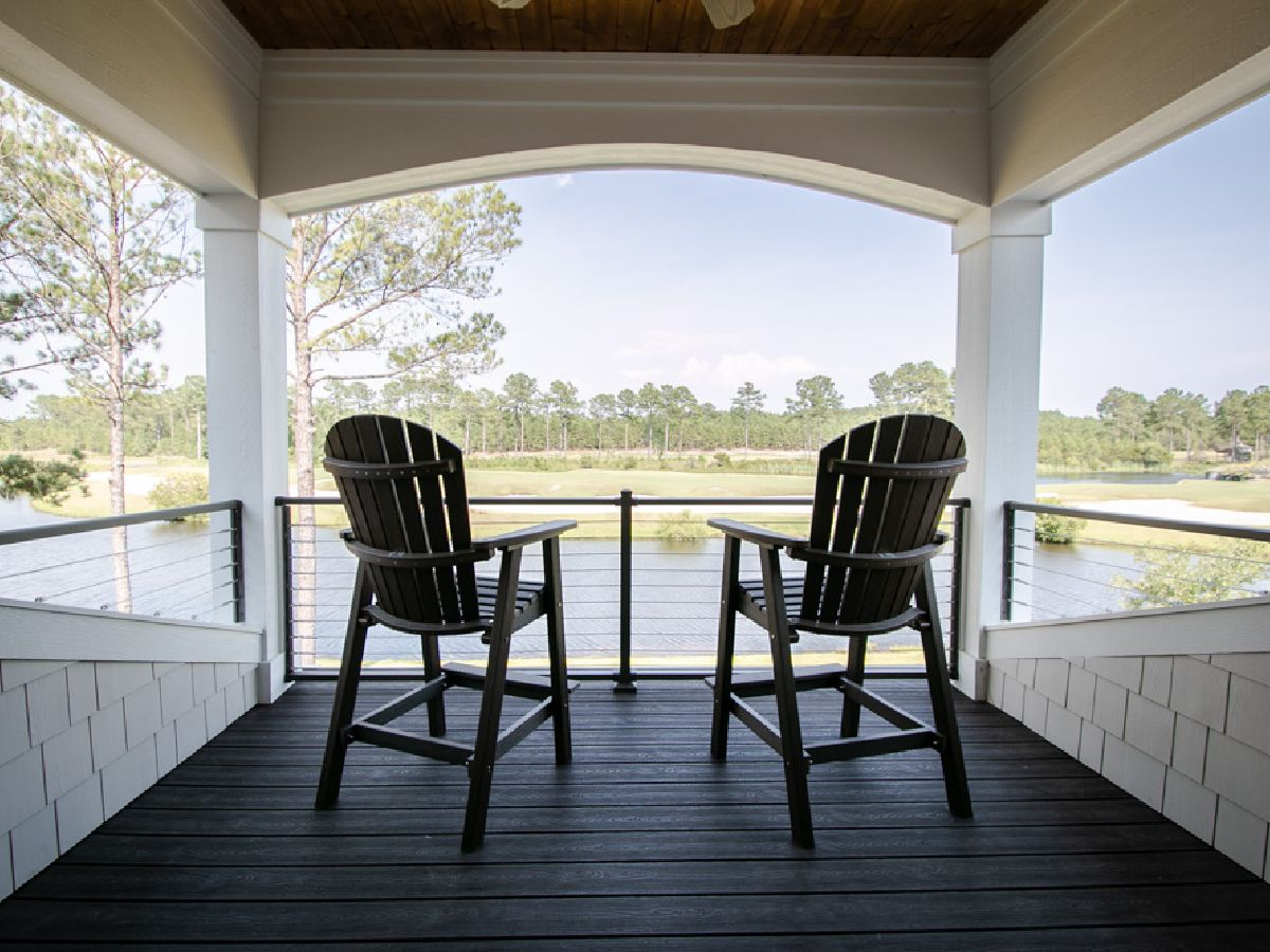 Outdoor space with water views in Ocean Isle Beach