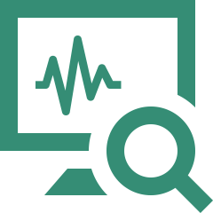 analytics monitor icon
