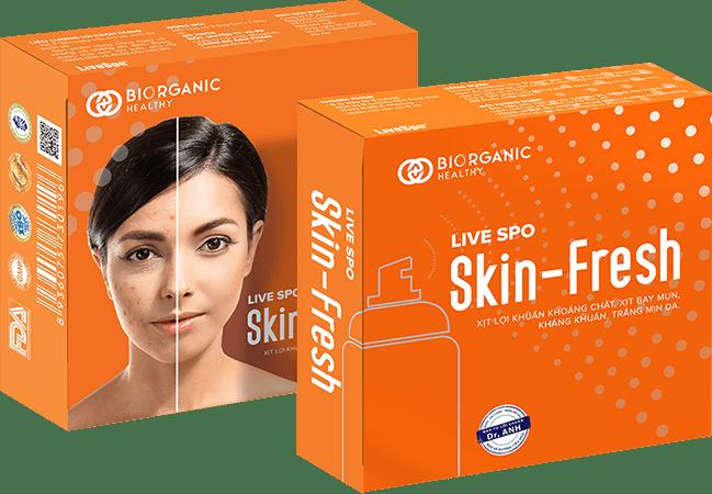 Xịt lợi khuẩn Skin Fresh có tốt không, giá bao nhiêu, mua ở đâu?