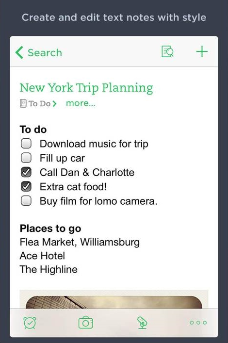 evernote to-do list