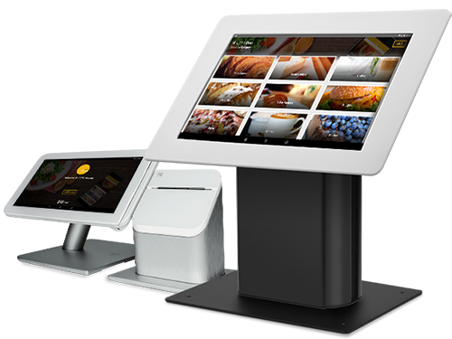 Self-order kiosk by Apptizer