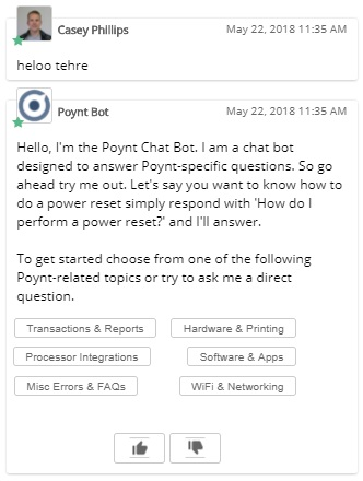 The Relay Chatbots using Natural Language Processing, also known as NLP, to properly respond to a greeting littered with grammatical errors.